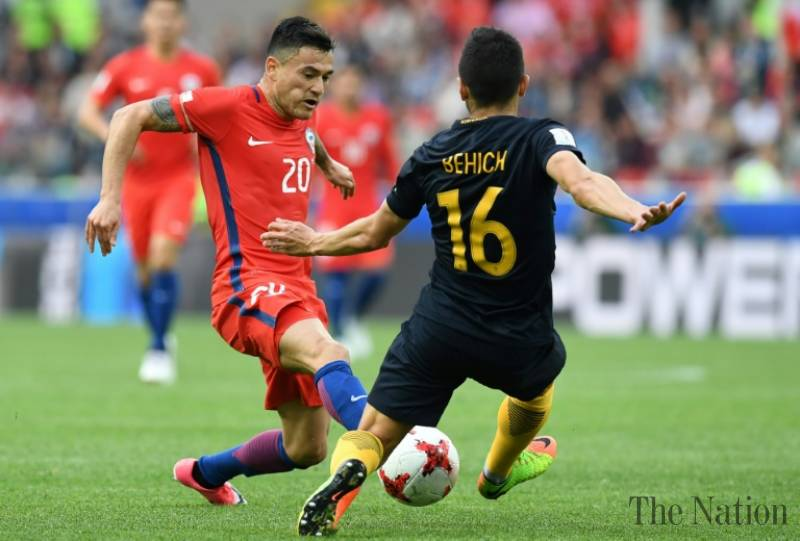 Chile wait on Aranguiz's fitness for semi-final