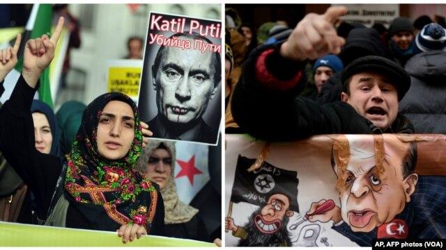 ترکی اور روس کے درمیان لفظوں کی جنگ جاری