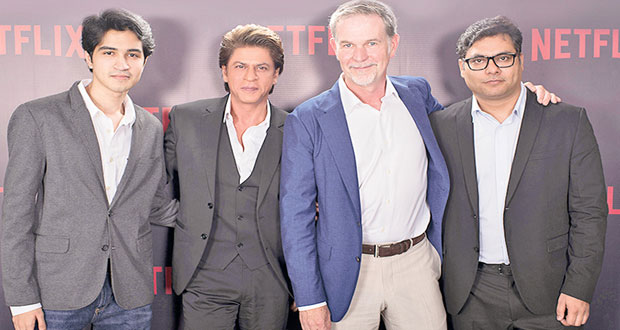 King Khan And Netflix Become Partners