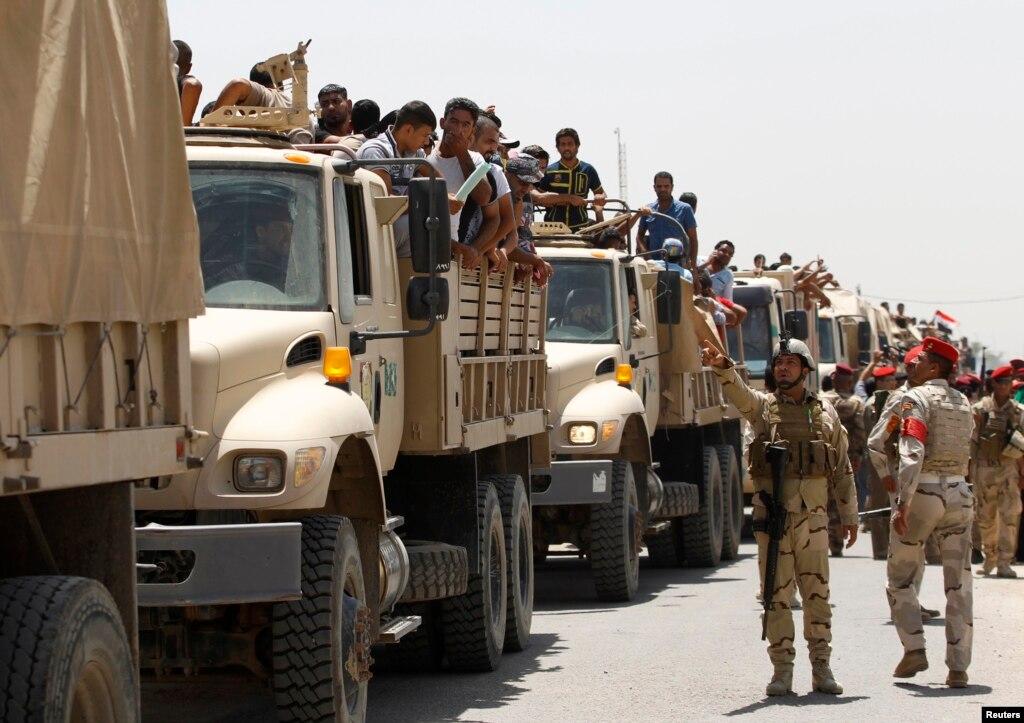 موصل کے لیے نئی امریکی فوجی کمک