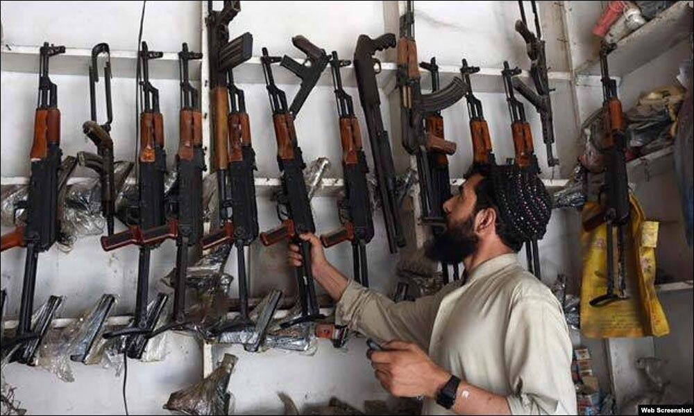 سندھ میں ہتھیاروں پر کنٹرول کا قانون