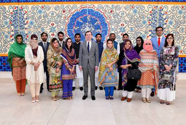 American Embassy Hosts University of Peshawar Students