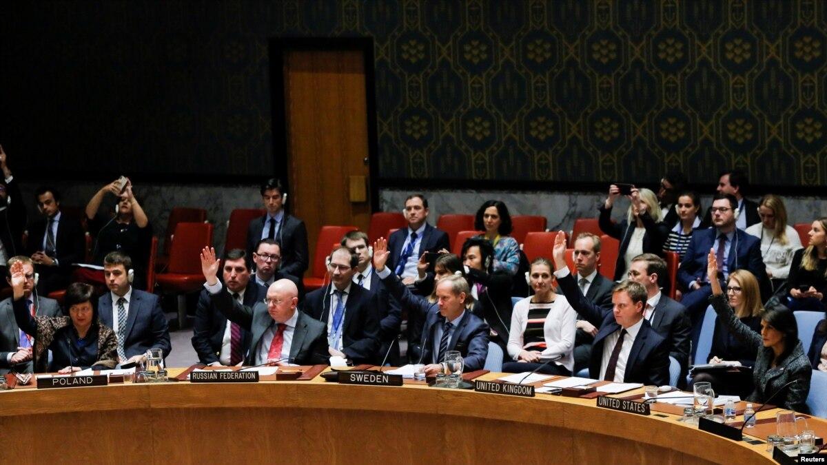 سلامتی کونسل کا شام میں تین روز کے لیے فائربندی کا مطالبہ
