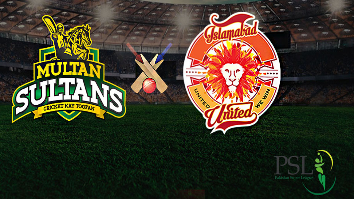 PSL: Multan Sultans to take on Islamabad United today