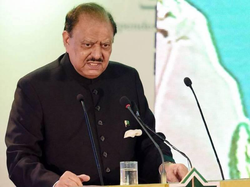 پاکستان میں سرمایہ کاری کے بہترین مواقع موجود ہیں، صدر مملکت