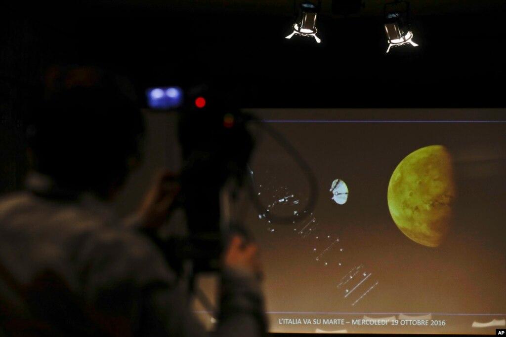 یورپ کا مریخ مشن ناکام، خلائی گاڑی بحفاظت نہ اتر سکی