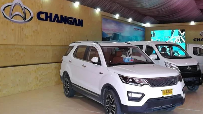 Chinese auto giant launches light commercial vehicles in Pakistan