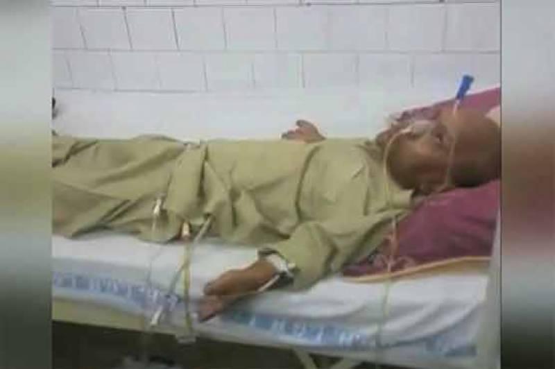 معروف پاکستانی اداکار جاوید کوڈو تشویشناک حالت میں ہسپتال منتقل