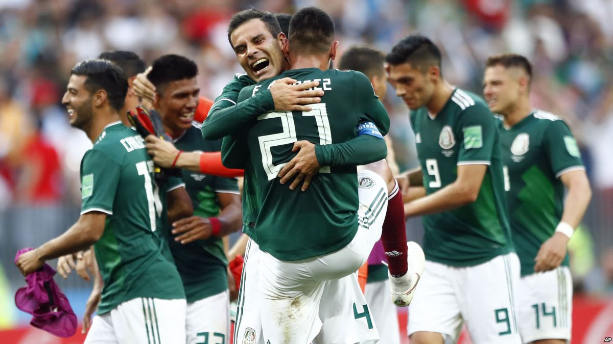 ورلڈ کپ فٹ بال: میکسیکو نے جرمنی کو ہرا کر بڑا اپ سیٹ کر دیا