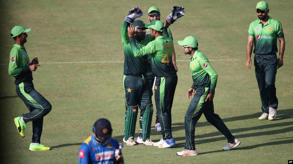 سری لنکا پاکستان کے ہاتھوں ون ڈے سیریز میں وائٹ واش