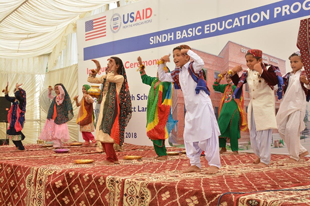 From the American people: another state-of-the-art school for Sindh