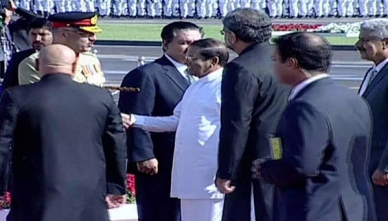 سری لنکا کے صدر کی پہلی مرتبہ بطور مہمان خصوصی یوم پاکستان تقریب میں شرکت
