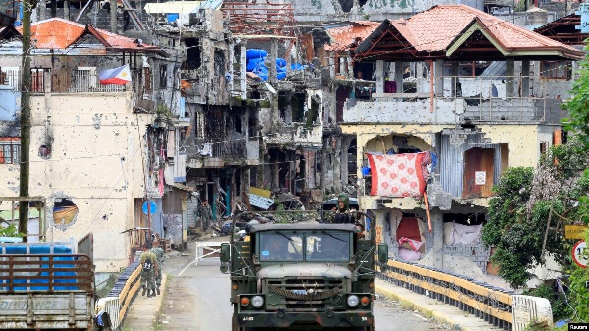 جنوبی فلپائن میں فوجی کارروائی، داعش کا سرغنہ ہلاک