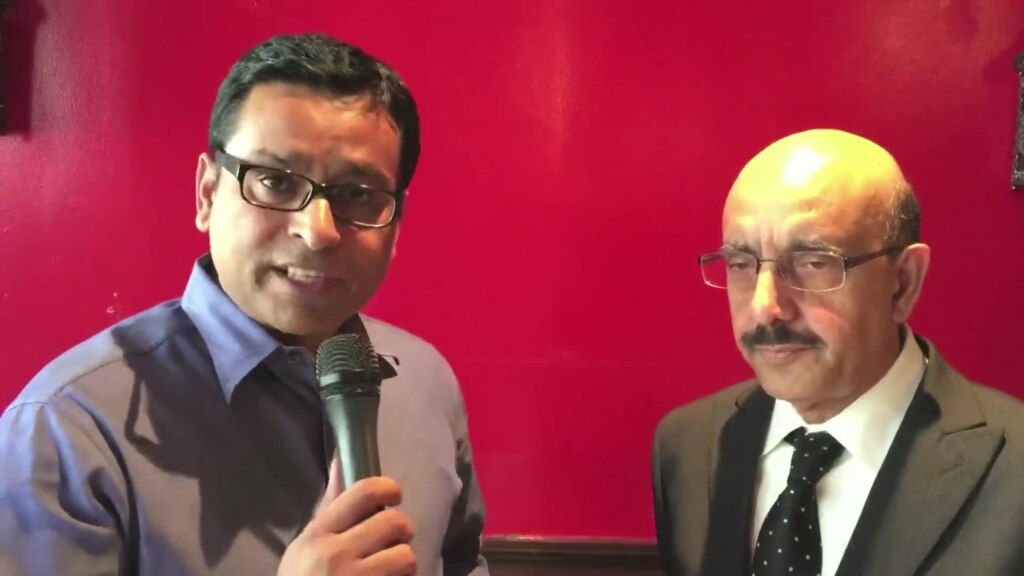 President Masood Khan INTV