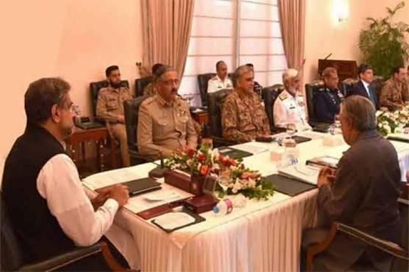 وزیراعظم کی زیر صدارت قومی سلامتی کمیٹی کا اہم اجلاس آج ہو گا