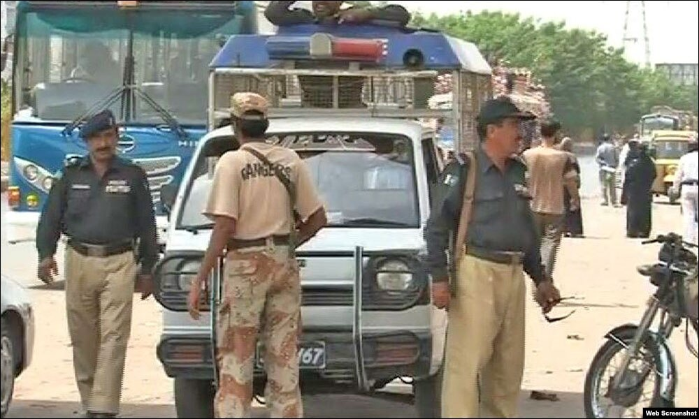 کراچی میں پولیس کی کارروائی،تین دہشت گرد ہلاک