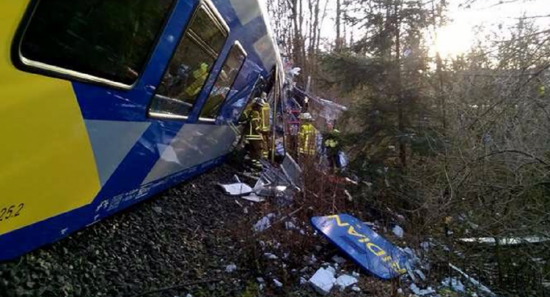 'Several' dead as two passenger trains collide in Germany
