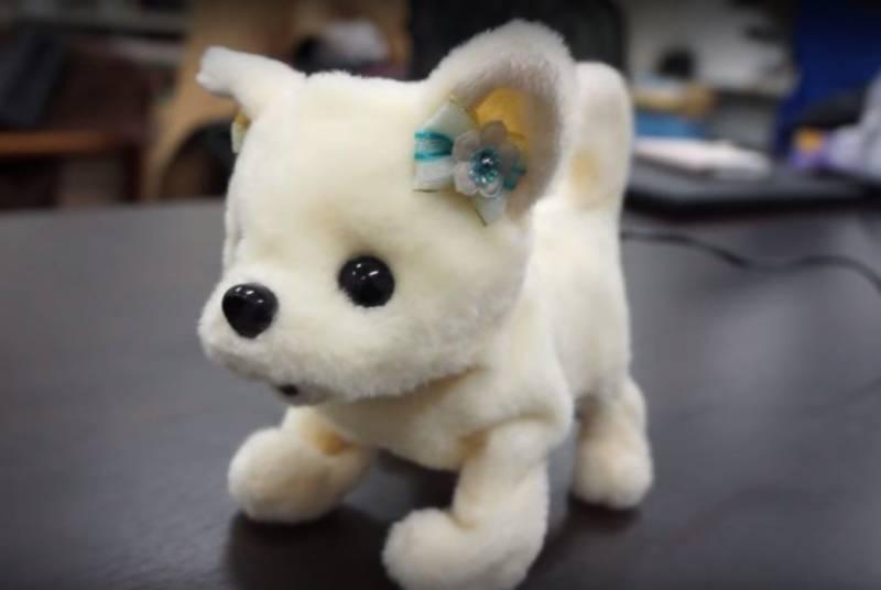 جاپان نے بو سونگنے والا روبوٹ کتا متعارف کروا دیا