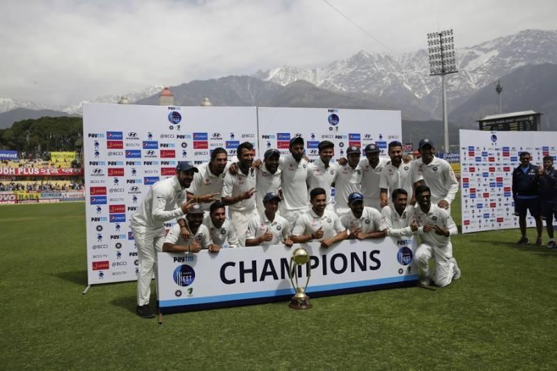 آئی سی سی ٹیسٹ رینکنگ ، بھارت نے پہلی پوزیشن اپنے نام کر لی