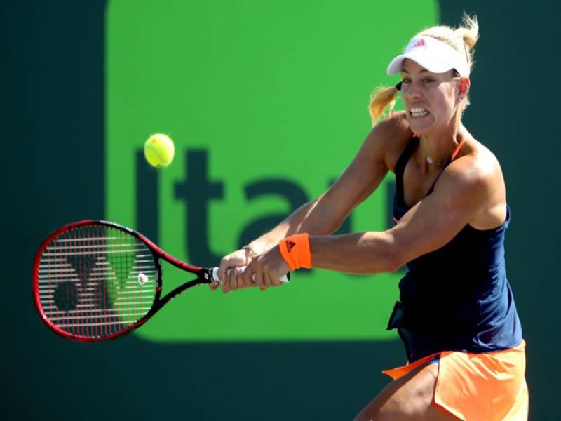 Kerber books clash with Venus as Cibulkova, Muguruza ousted