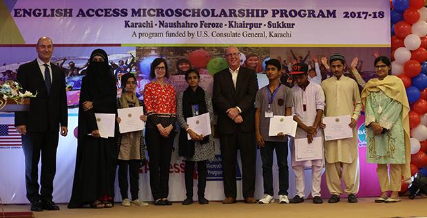 کراچی میں پانچویں ''انگلش ایکسس مائیکرواسکالرشپ'' پروگرام کا آغاز