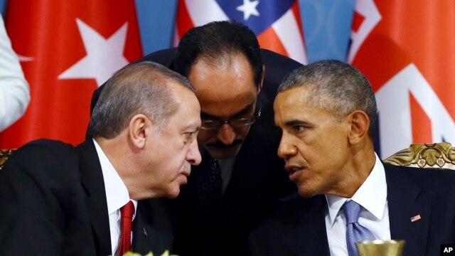 امریکہ اور ترکی کے صدور کا کشیدگی کو کم کرنے پر اتفاق