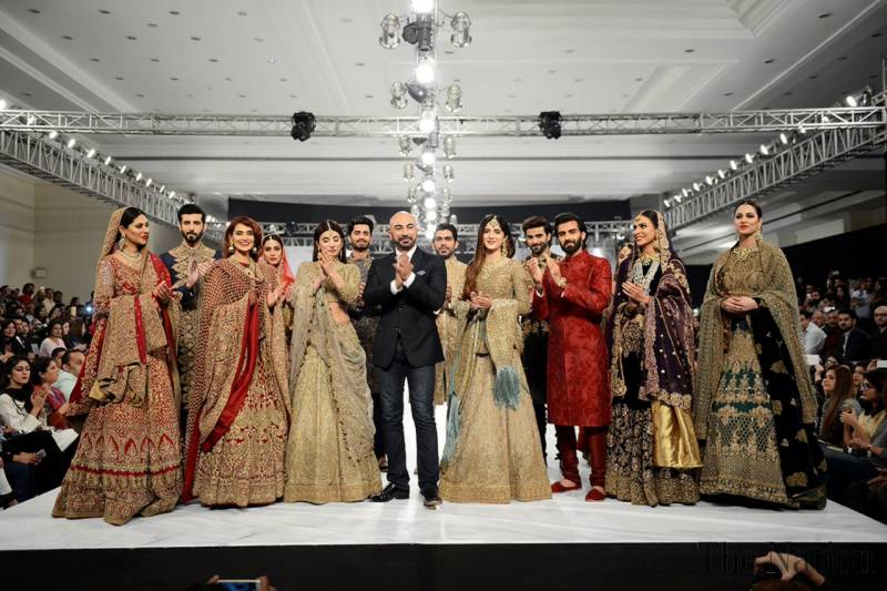 PFDC fashion week on the roll