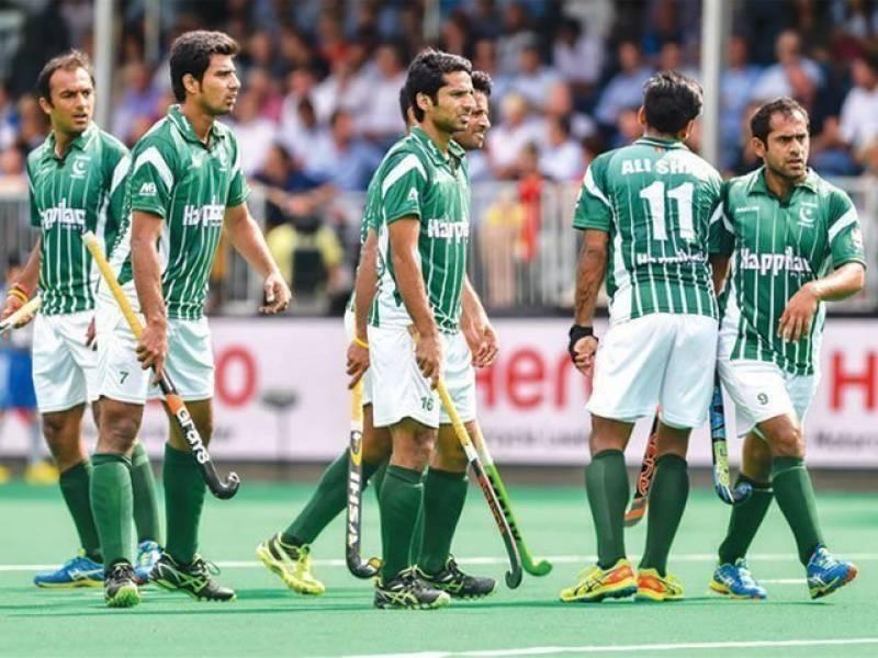 ورلڈ ہاکی لیگ میں پاکستان کو روایتی حیریف سے دوسری شکست