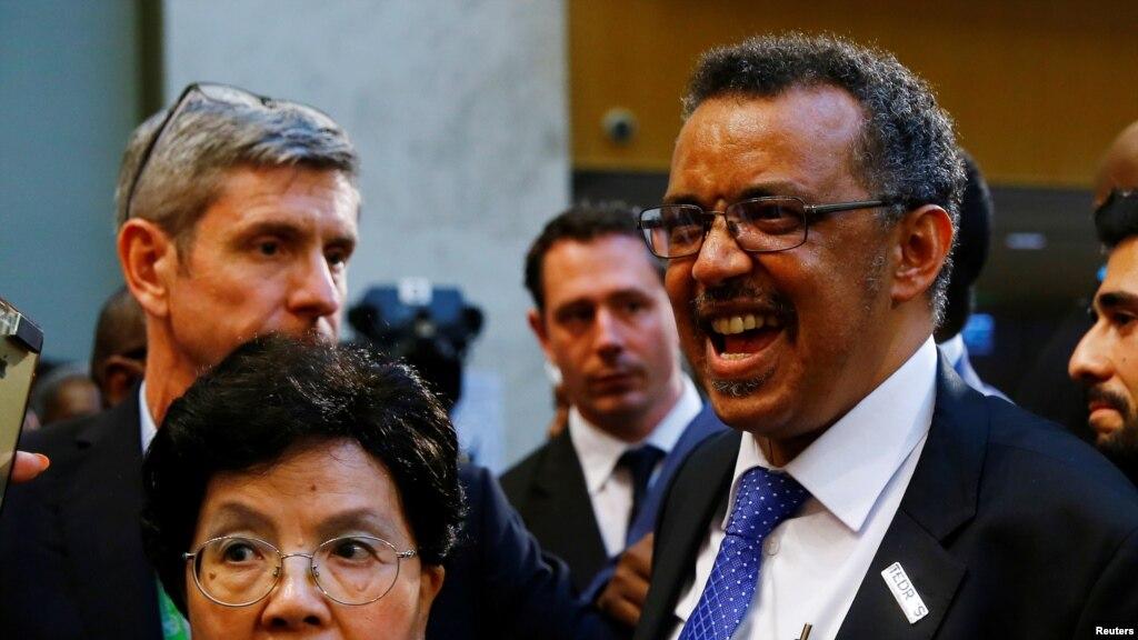 ایتھوپیا کے ٹیڈروس عالمی ادارہ صحت کے ڈائریکٹر جنرل منتخب