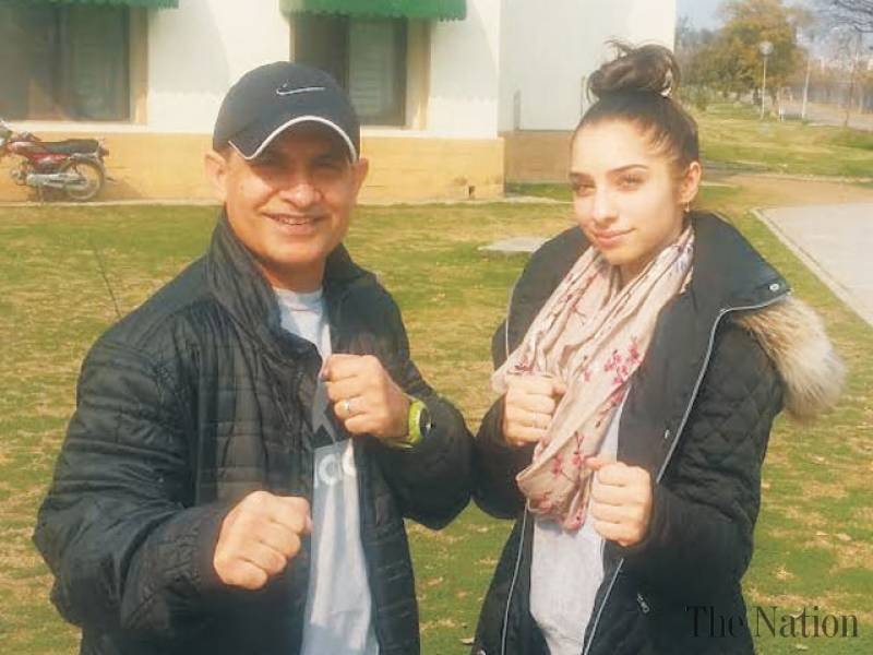 Yasmeen eager to excel for Pakistan in SAG taekwondo