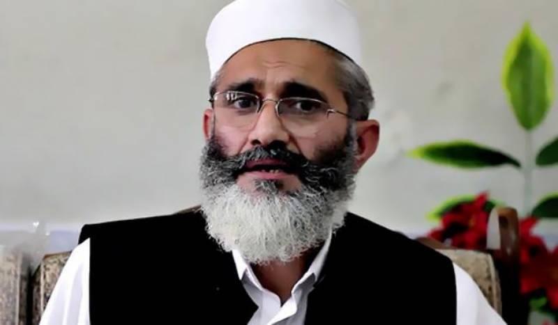 وزیراعظم شاہد خاقان عباسی فوری طور پر روہنگیا مسلمانوں کے کیمپوں کا دورہ کریں : سینیٹر سراج الحق