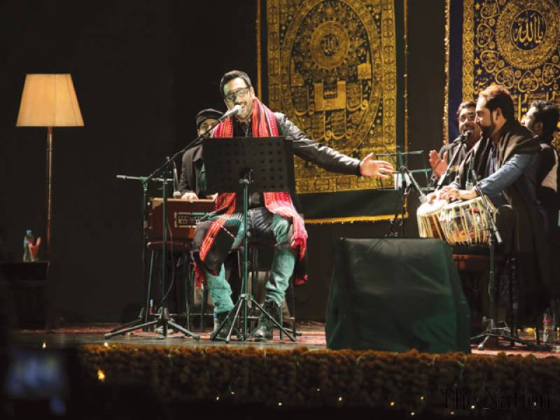 Ali pays tribute to Sufi poets