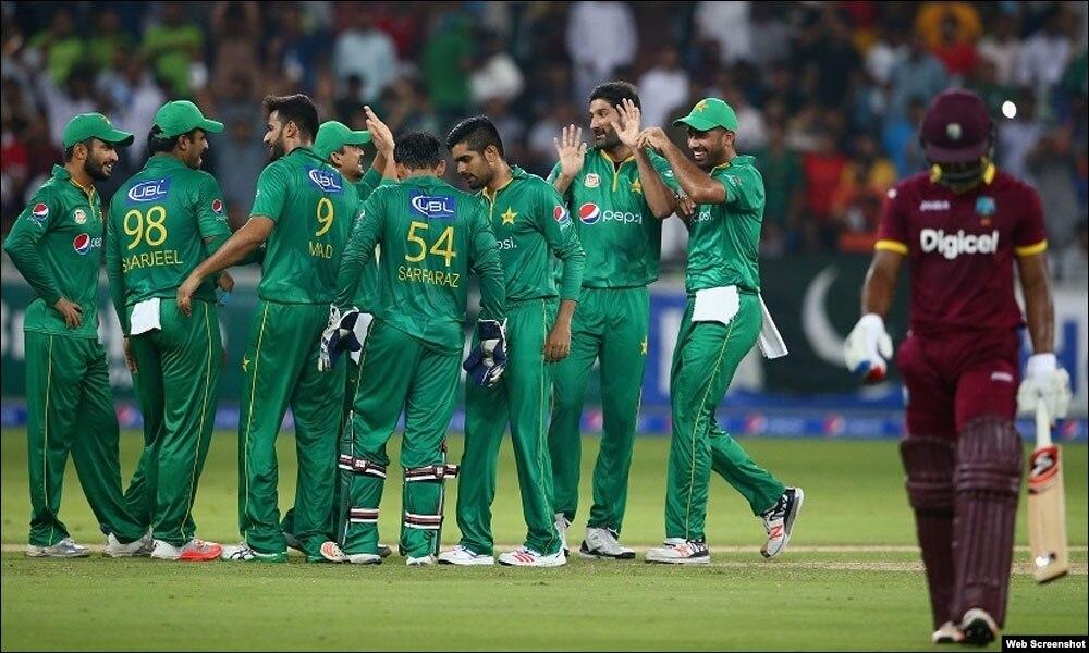 ٹی 20 سریز میں پاکستان کی جیت