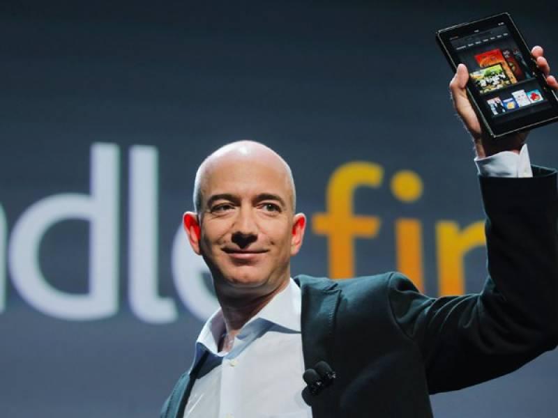 ایمازو ن کے سی ای او دنیا کے امیرترین شخص قرار
