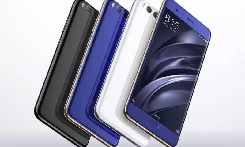 """چینی سمارٹ فون """"شیاؤمی می 6 """" کی پاکستان میں فروخت شروع"""