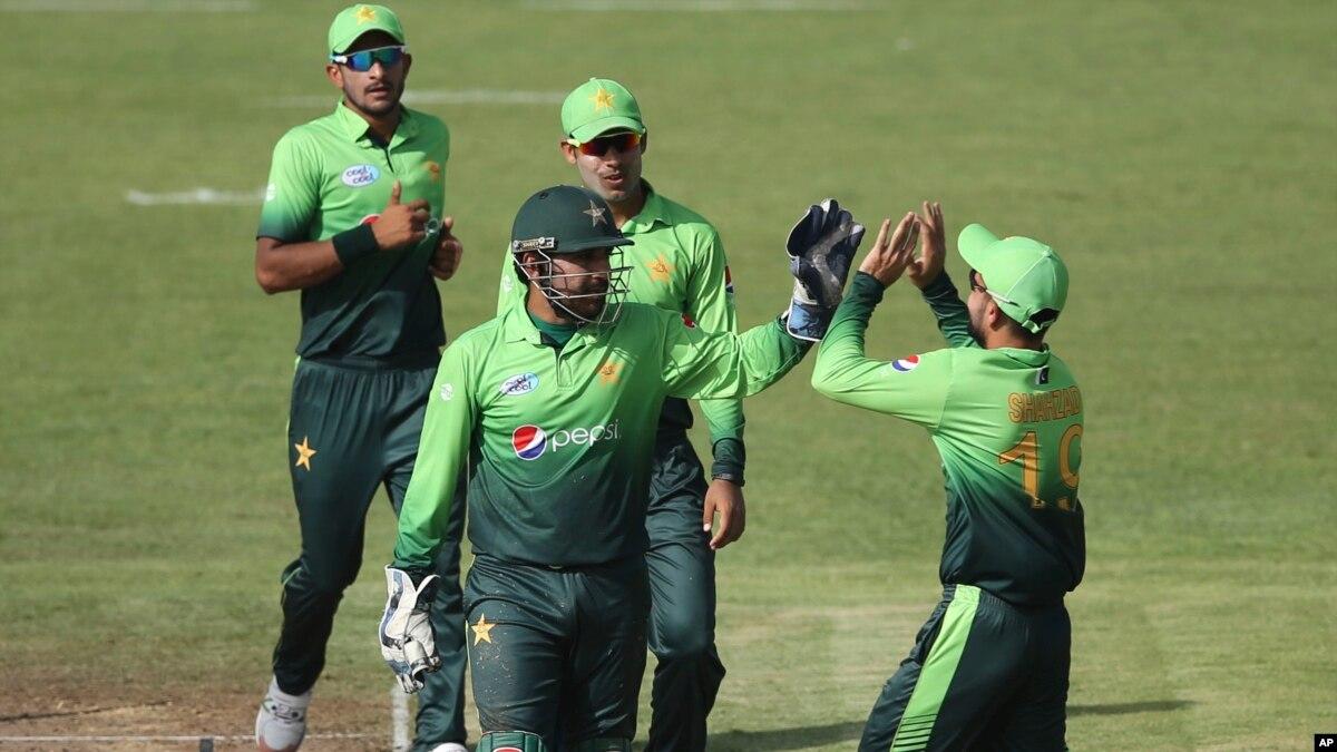 چوتھے ون ڈے میں پاکستان کی سات وکٹوں سے جیت