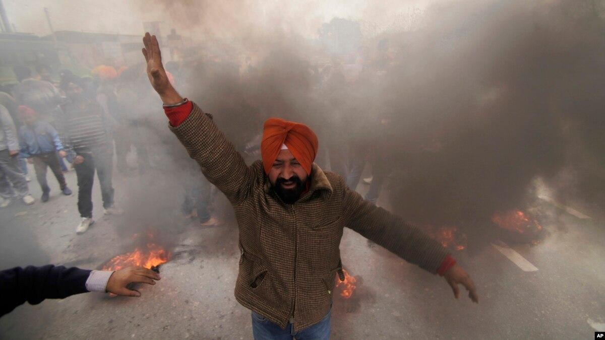 پاکستان پر سکھ نوجوانوں کو تخریب کاری کی تربیت دینے کا الزام