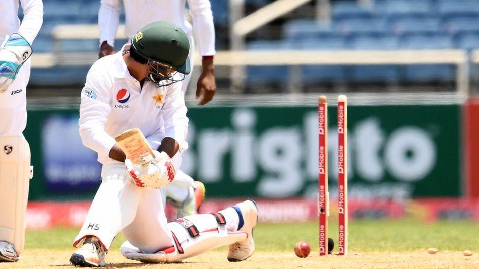 کنگسٹن ٹیسٹ میں پاکستان کی برتری 100 رنز