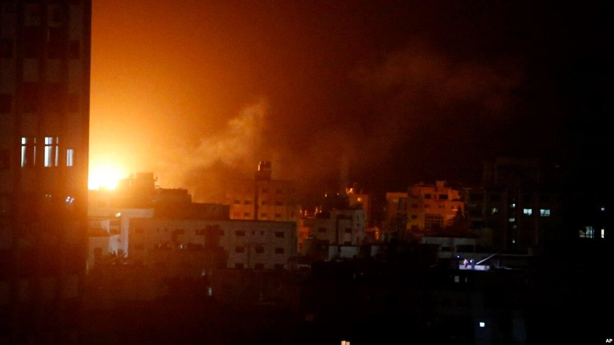 غزہ میں حملوں کے بعد فائر بندی