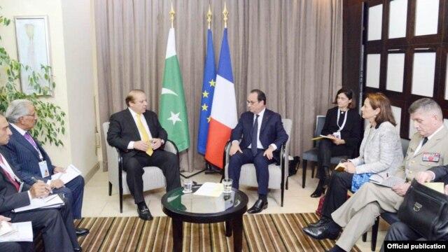 انسداد دہشت گردی سے متعلق تجربات فرانس کو فراہم کرنے کو تیار ہیں: نواز شریف