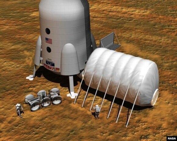 مریخ پر پہلی انسانی کالونی