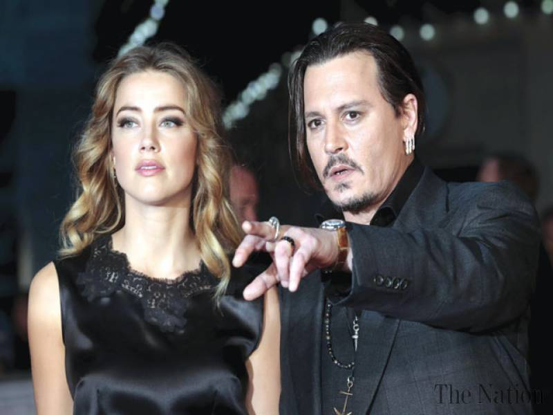Johnny Depp's wife files for divorce