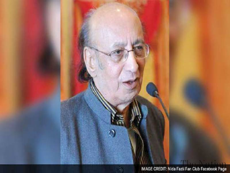 Acclaimed poet-lyricist Nida Fazli dies