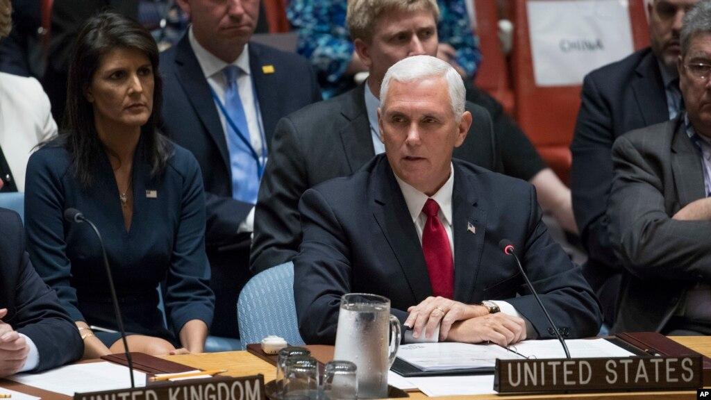 روہنگیا مسلمانوں کے خلاف ''سنگین سفاکی''، مائیک پینس کی شدید مذمت