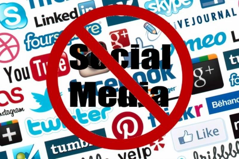 مقبوضہ کشمیر میں ایک ماہ کیلئے سوشل میڈیا پر پابندی