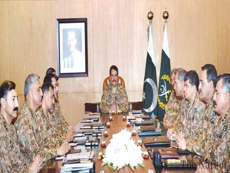 Corps commanders approve combing operations across country
