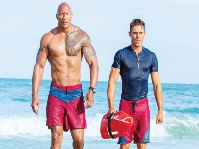 Bronzed beachguards of Baywatch back on big screen