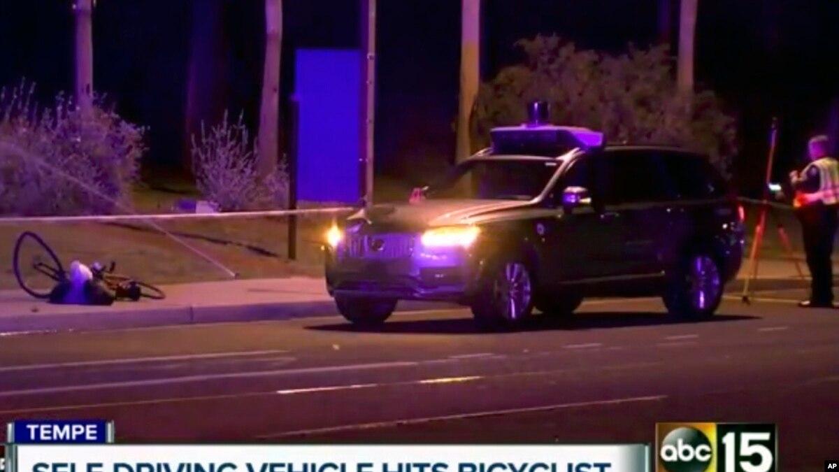 امریکہ: خود کار گاڑی کی ٹکر سے خاتون راہ گیر ہلاک