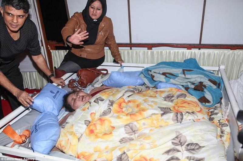 نصف ٹن وزنی مصری لڑکی کے لیے بھارتی ڈاکٹرز کو پولیس بلانا پڑ گئی