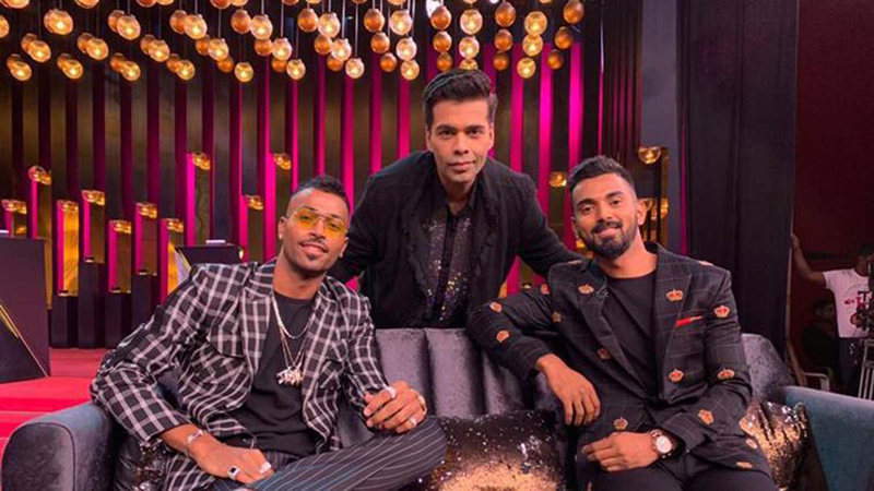 Cricketers Hardik Pandya, KL Rahul episode of 'Koffee with Karan